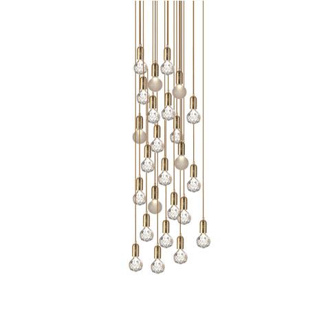 Подвесной светильник Crystal Bulb by Lee Broom (18 подвесов)