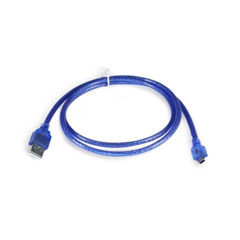 Переходник mini-USB(male) на USB2.0(male), с передачей данных, 100 см