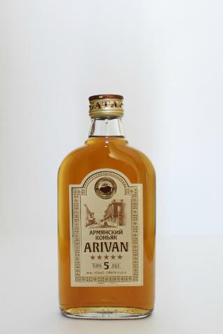 Коньяк Ариван 5 лет 0,25л