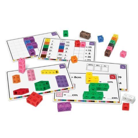 LSP4299-UK Игровой набор Соединяющиеся кубики. Академия математики, Learning Resources