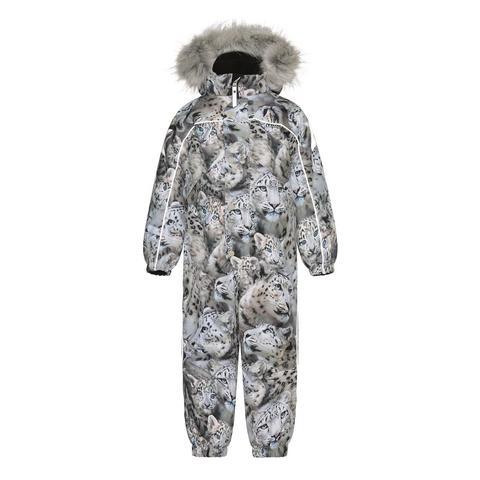 Molo (Моло) Polaris Fur Snowy Leopards зимний комбинезон