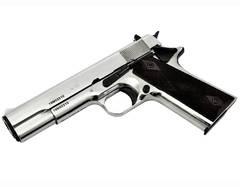 Охолощенный СХП пистолет Colt M1911A1 Kurs (Colt) хром кал.10*24