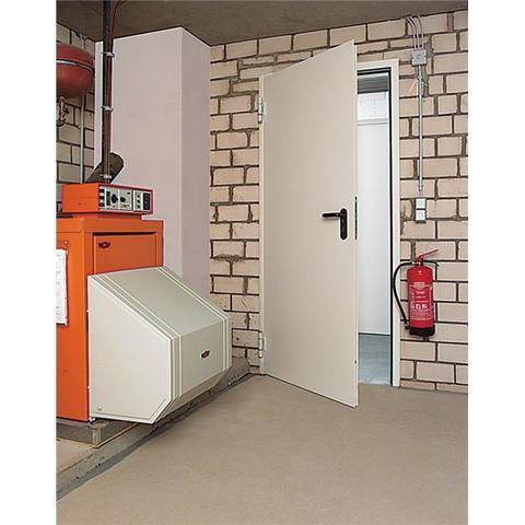 Дверь внутренняя Hormann , RAL 9016, правая, угловая коробка