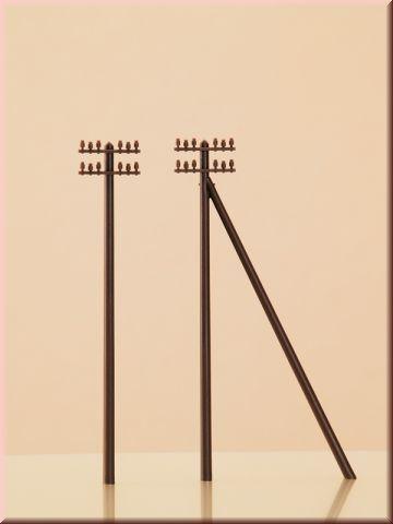 Телеграфные столбы - 12 шт, (TT)