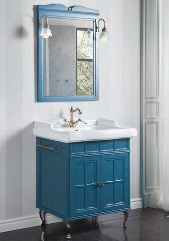 Комплект мебели Caprigo Borgo 60 см (тумба с раковиной + зеркало )