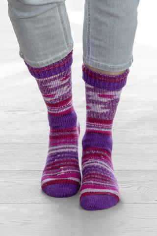 Носочная пряжа Gruendl Hot Socks Simila 402 купить