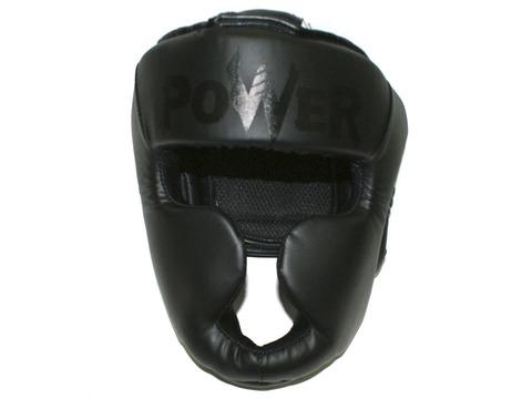 Шлем боксёрский закрытый, индивидуальная упаковка. Материал: кожзаменитель. Усиленная защита области ушей, сзади застежка на липучке. Цвета: чёрный, размер L. HT-L-Ч