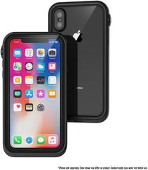 Водонепроницаемый чехол Catalyst Waterproof Case for iPhone XS Max, черный (Stealth Black)