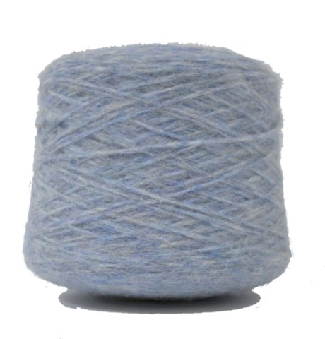 Пряжа Inca Tops Pujpu ZF72 серо-голубая дымка