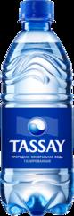 """Вода """"Tassay"""" питьевая газированная 0,5л"""