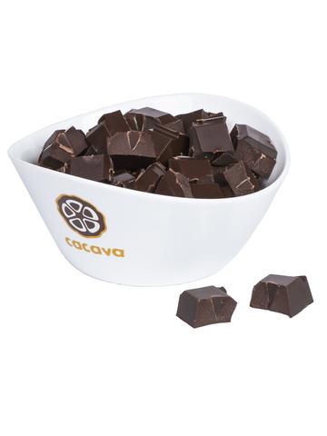 Тёмный шоколад 70 % какао (Танзания, Kokoa Kamili), внешний вид