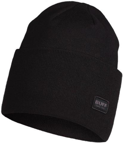 Вязаная шапка Buff Hat Knitted Niels Black фото 1