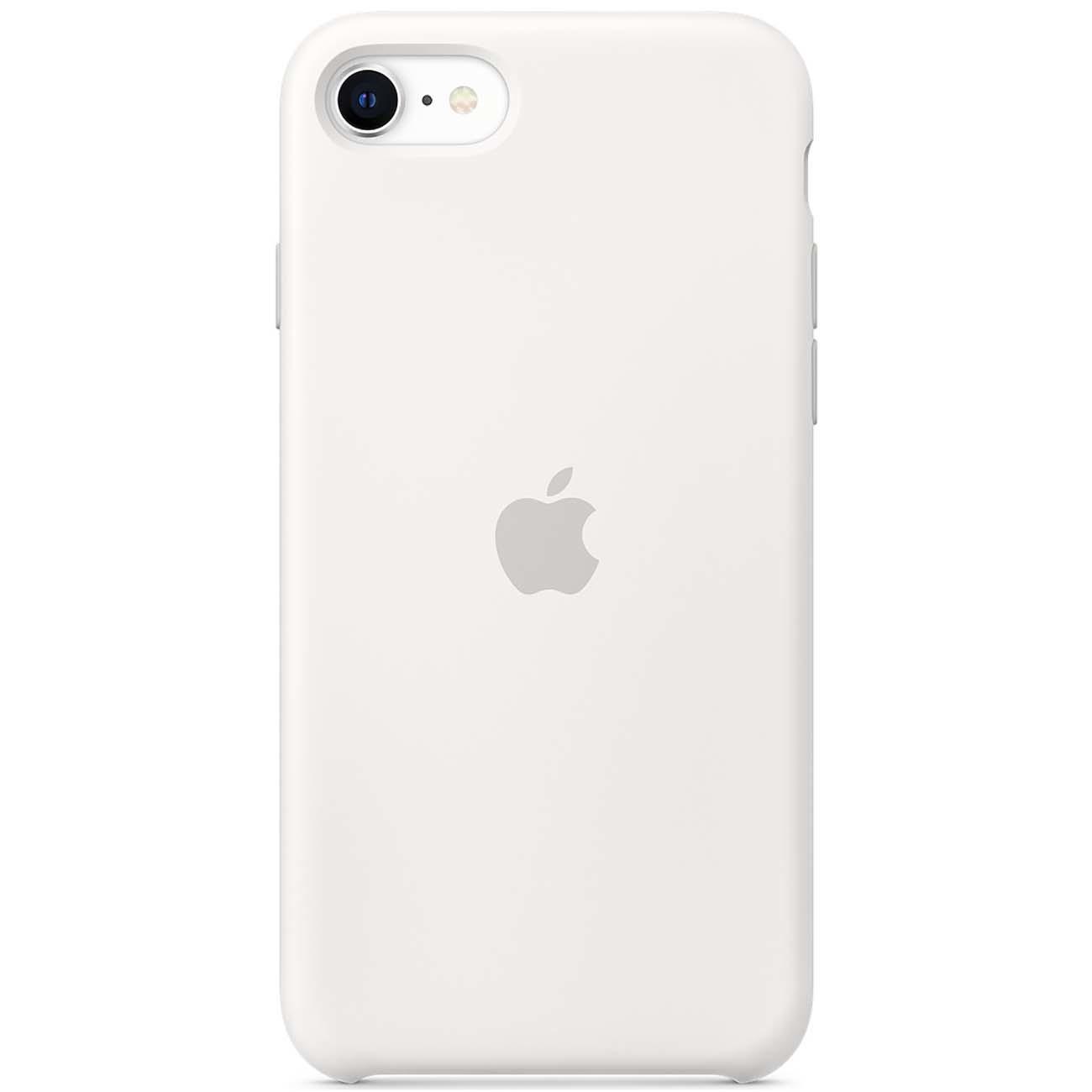 Чехол Apple iPhone SE 2020/7/8 Silicone Case White (9)