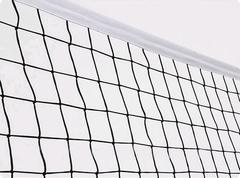 Сетка волейбольная ТРЕНИРОВОЧНАЯ d=3.0мм с тросом.