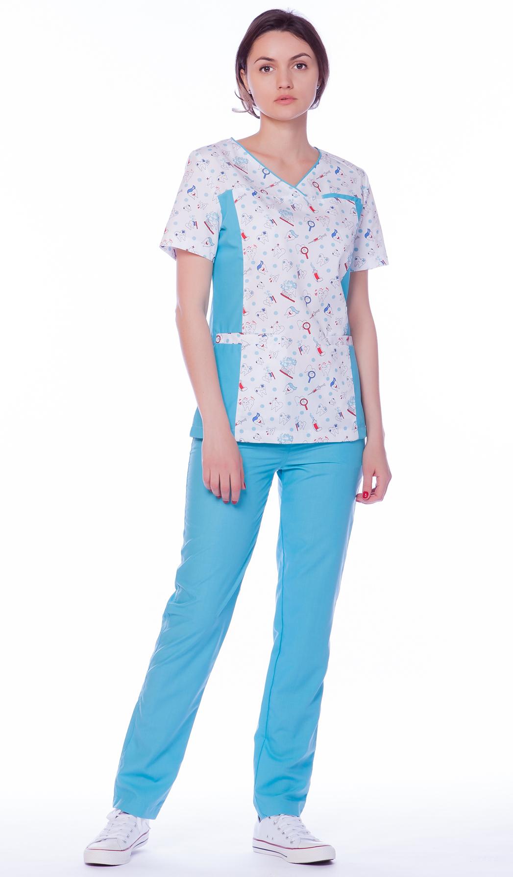 Блуза медицинская женская М68