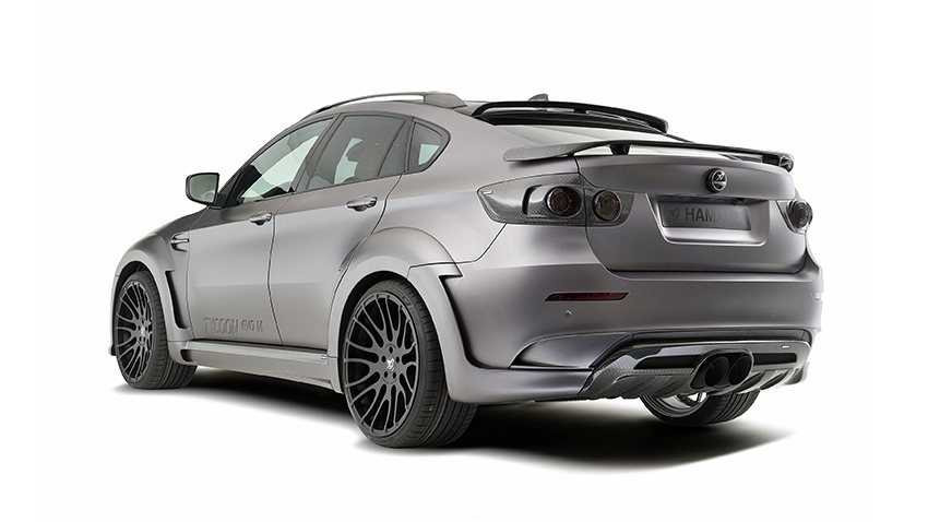 Обвес Hamann для BMW X6 M E71