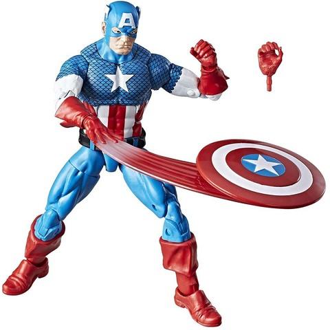 Капитан Америка 15 см. Ретро коллекция Марвел