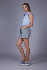 Юбка-шорты с карманами магазин