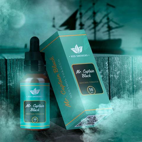 Жидкость Mr.Captain Black 50 мл Menthol Tobacco