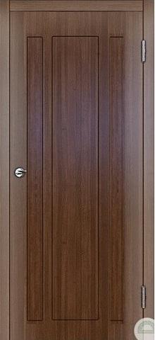 Дверь Консул (марроне, остекленная ПВХ), фабрика Зодчий