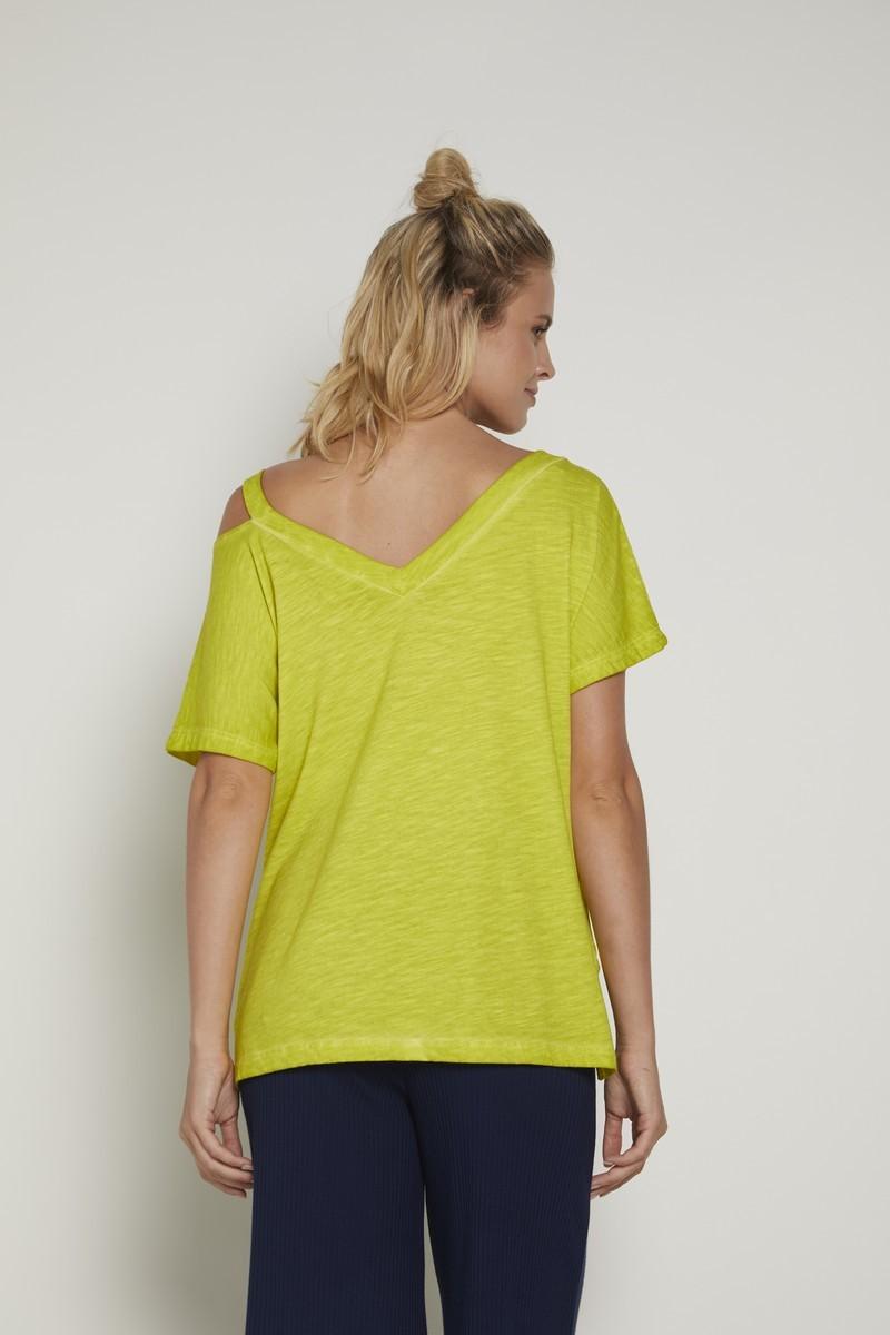 Блузка для беременных 09351 лимонный