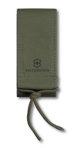 Нейлоновый чехол для ножей Victorinox 111 мм, толщиной от 3 до 5 уровней, цвет зелёный (4.0822.4) - Wenger-Victorinox.Ru