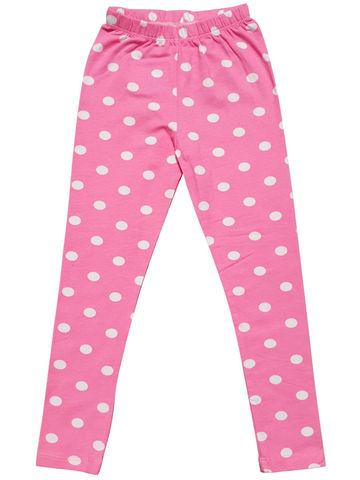 Бриджи для девочки розовые кулирная гладь купить недорого