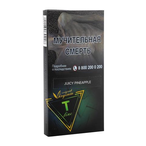 Табак Virginia T-Line Juicy Pineapple 100 г
