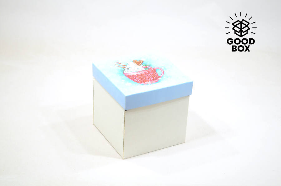 Новогодние коробки недорого с доставкой