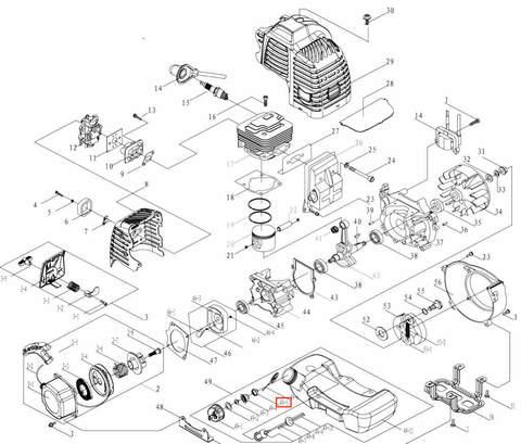 Крышка для лодочного мотора T3,5 Sea-PRO