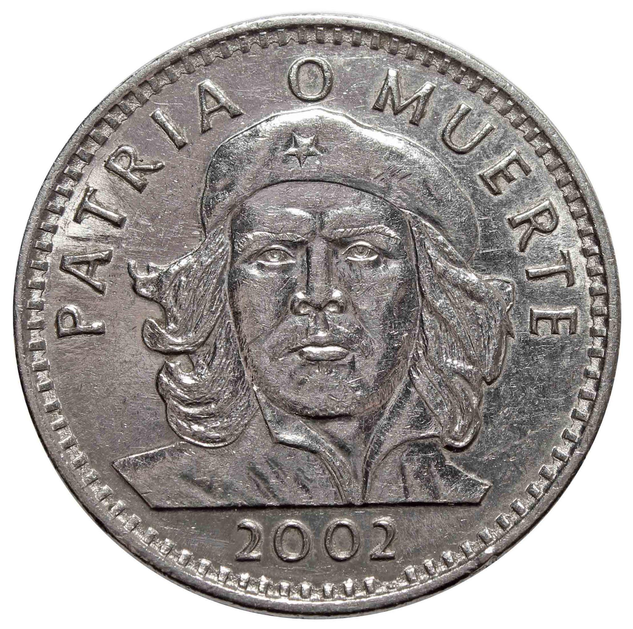 3 Песо 2002 г. КУБА. Че Гевара. XF №2