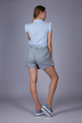 Юбка-шорты с карманами интернет магазин