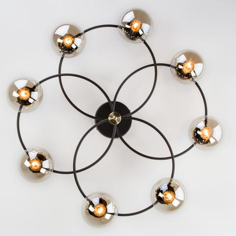 Потолочная люстра в стиле лофт 70104/8 черный