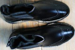 Резиновые сапоги модные женские W9072Black.