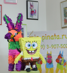 Пиньята Губка-Боб - mir-pinata.ru