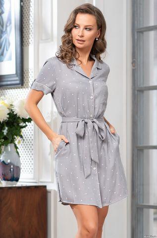 Рубашка-Халат на пуговицах  Mia-Amore ELAIN Элайн 1517