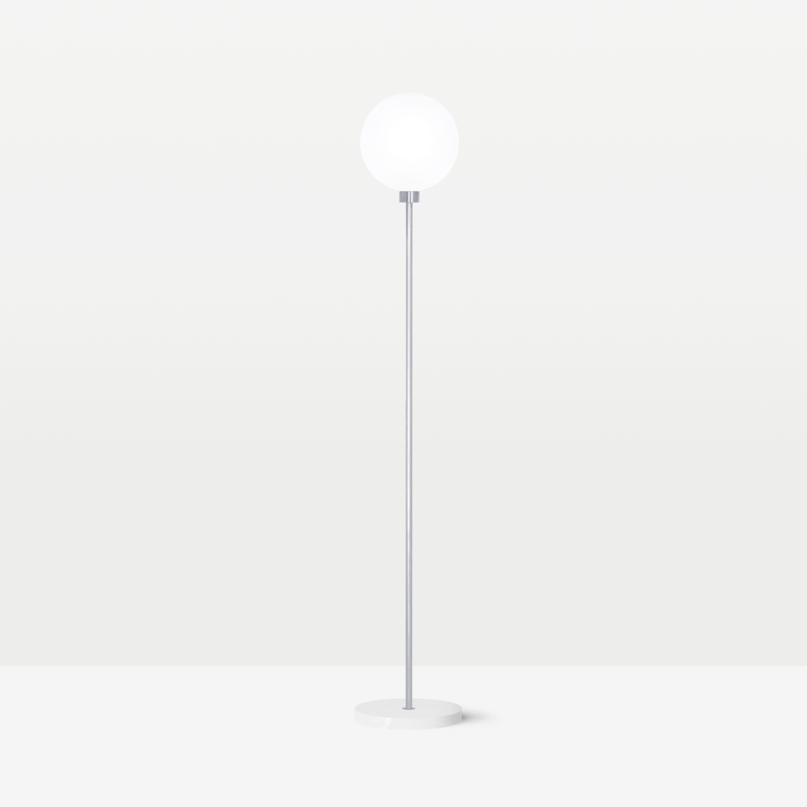 Напольный светильник Onis белый мрамор - вид 4
