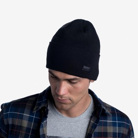 Вязаная шапка Buff Hat Knitted Niels Black фото 2