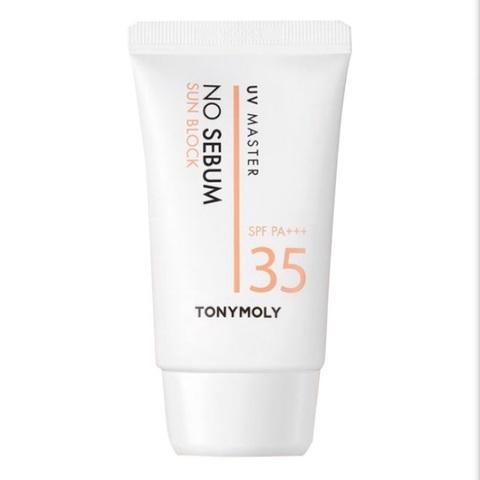 Tony moly No sebum sun block UV master