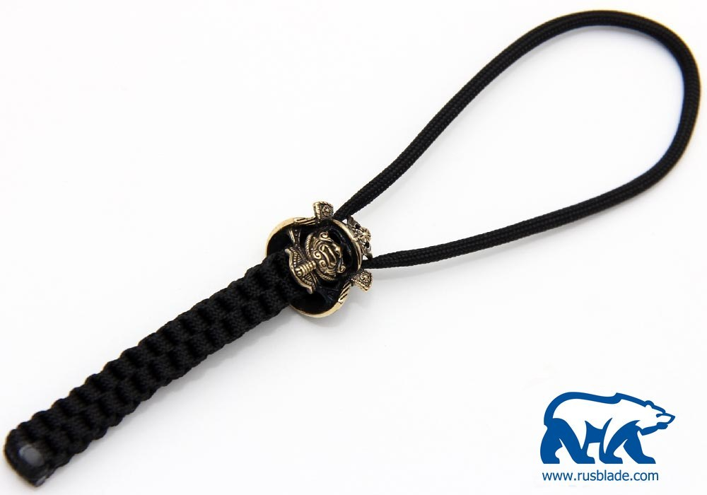 "Custom Sword Knot ""Samurai helmet"" Limited Edition - фотография"