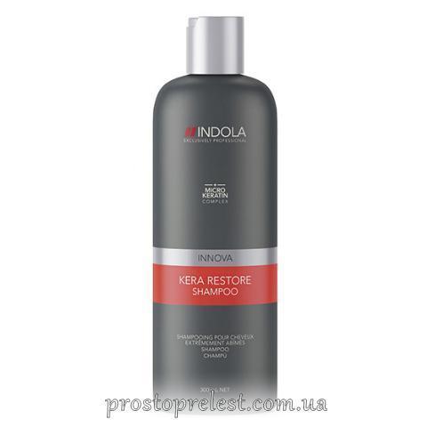 Indola Kera Restore Shampoo - Шампунь для пошкодженого волосся