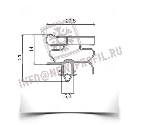 Уплотнитель 38*67 см для холодильника Индезит TAN 5V (морозильная камера) Профиль 010
