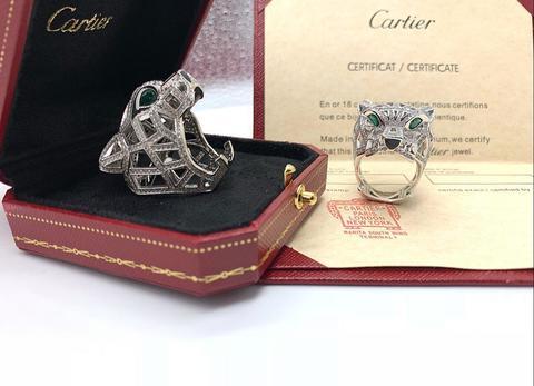 Кольцо  Panthere