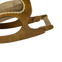 Кресло-качалка Комфорт Модель 44 орех/Malta 17