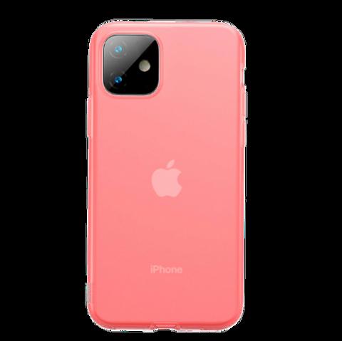 Baseus  / Чехол  для iPhone 11 серия Jelly Liquid Silica Gel  | красный