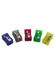 Пластиковая точилка в разных цветах