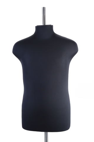 Манекен портновский мужской 44 размер ОСТ (черный)