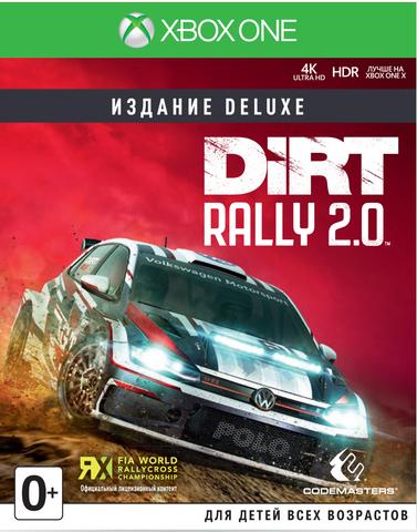 Dirt Rally 2.0 Издание Deluxe (Xbox One/Series X, английская версия)