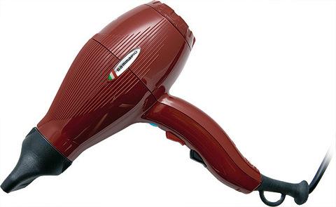 Фен Gamma Piu Ion Ceramic S, 2300 Вт, 2 насадки, красный