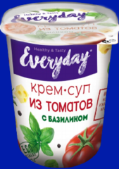 Крем-суп EVERYDAY из томатов с базиликом [т/с 36г*12]